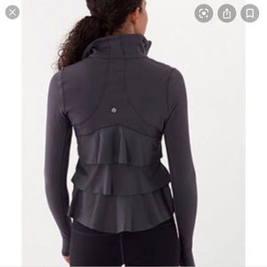 Lululemon Ruffle Back Jacket